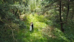 Drone huren trouwfeest